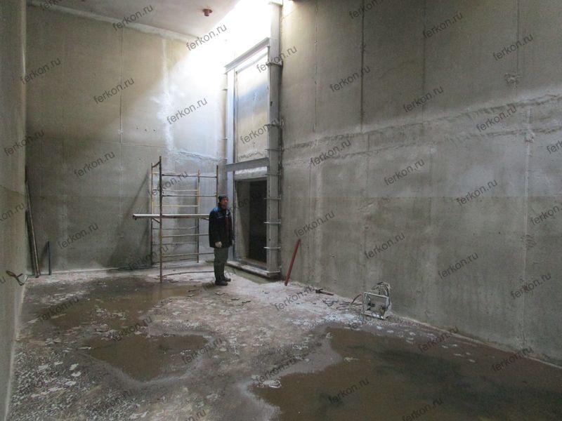 щитовой затвор глубинный, 2000х2000, очистные сооружения