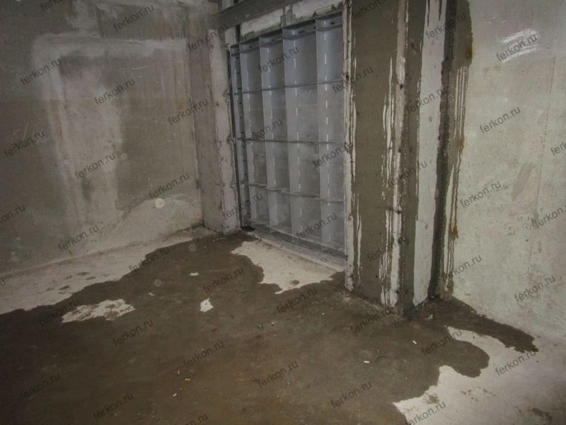 щитовой затвор глубинный 2000х2000